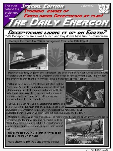 Daily Energon